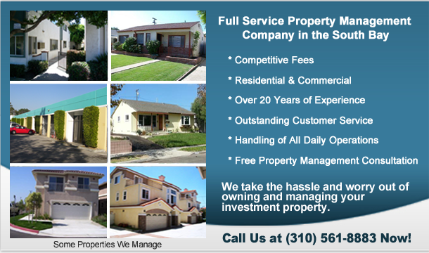 Property Management in South Bay